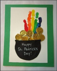 St. Patrick's Day Rainbow craft ideas for primaryschool