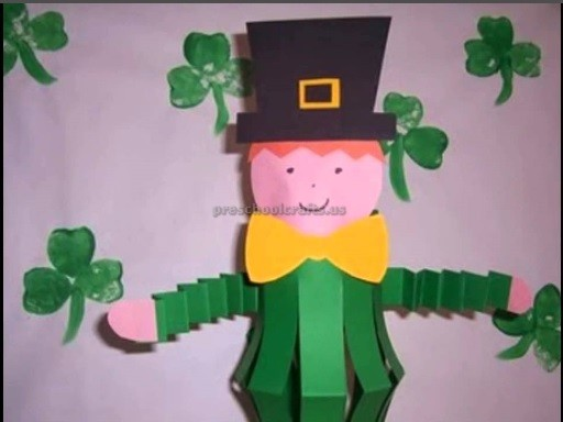 st patricks day crafts st s day craft ideas for kindergarten preschool 5486