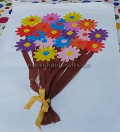 Women's Day Craft Idea for Pre school