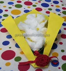 Womens Day Craft Idea for Pre school