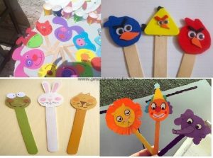 animals popsicle stick kids crafts