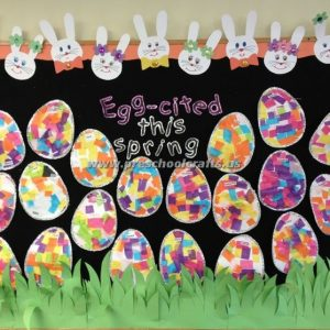 bulletin board for easter