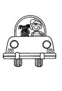 car coloring pages free printable for kindergarten