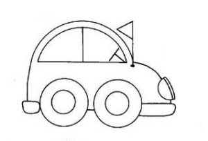 car coloring pages free printable for toddler