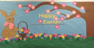 easter bulletin board ideas