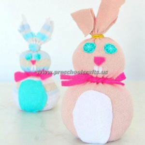 easter bunny craft ideas for preschoolers