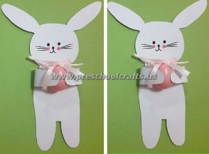 easter bunny crafts for kindergarten