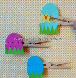 easter chick craft ideas for kids