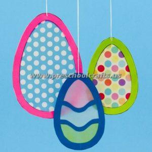easter mobile egg kids crafts