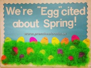 easter spring bulletin boards