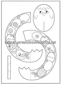 easy easter craft template for kids