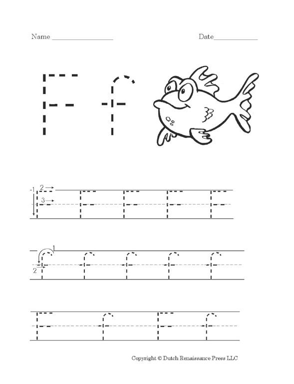Common Worksheets » Letter F Worksheet Preschool - Preschool and ...