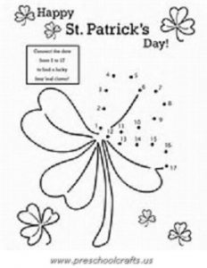 graphic about St Patrick's Day Worksheets Free Printable named St. Patricks Working day Printable Worksheets for Children - Preschool