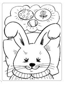 holiday easter coloring pages