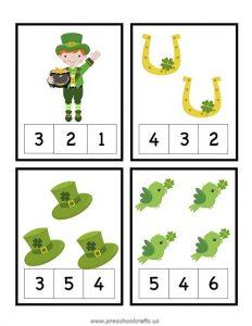 patricks day worksheets for kids