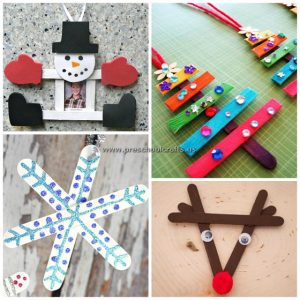 popsicle stick christmas craft ideas for kids