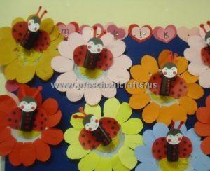 preschoolers spring crafts