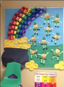 rainbow craft related to st. patrick day