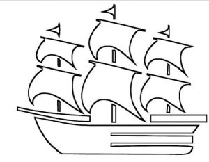 ship coloring pages for preschool and kindergarten