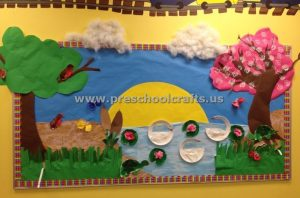 spring bulletin board ideas for preschoolers