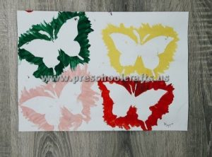 spring butterfly crafts for kids