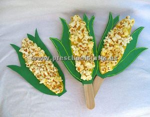 spring corn craft ideas for kids
