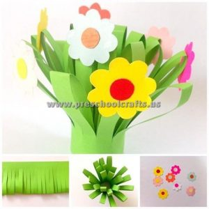 spring crafts for kindergarten