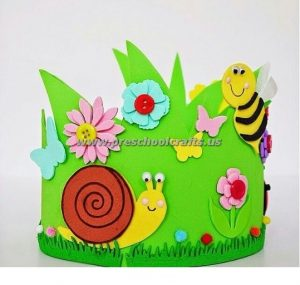 spring crown ideas for kids