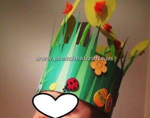 spring headband crafts