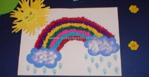 spring rainbow craft ideas for kids