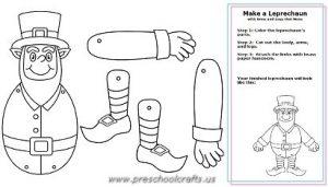 st patrick day worksheets for preschool teachers