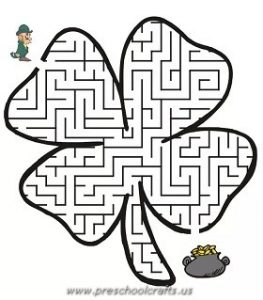 st patricks day free worksheets