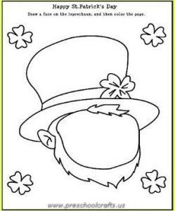 st patricks day worksheets for kindergarten