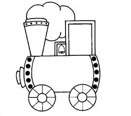 train coloring pages for preschool and kindergarten