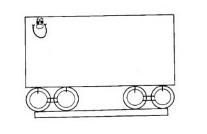 tram coloring pages for preschool and kindergarten free printable