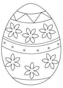 Coloring pages related to happy easter for kids