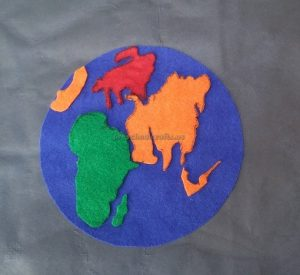 Craft idea related to Earth Day Theme