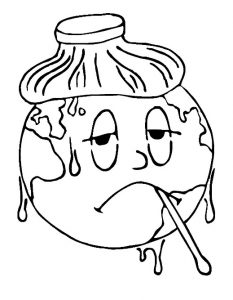 Earth Day Coloring Pages for Toddler