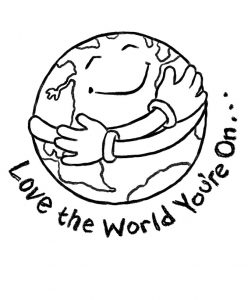 Earth Day Colouring Pages for Kids