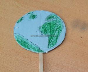 Earth Day Craft Idea for Kindergarten