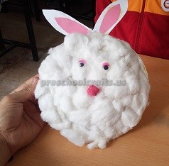 Easter Bunny Craft for Preschool