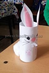 Easter Bunny Craft for Preschooler