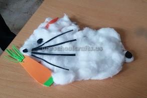 Easter Rabbit Craft for Preschooler
