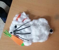 Funny Easter Bunny Craft for Preschool