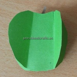 Green Apple Craft Ideas for Kindergarten - Spring Fruits Craft Ideas