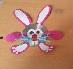 Happy Easter Bunny Cd Craft Ideas Preschool
