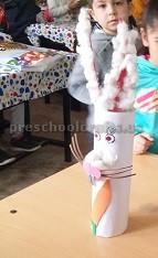 Happy Easter Bunny Craft for Preschooler and Kindergarten