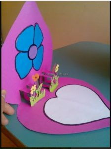 Happy mothers day flower crafts ideas for preschool