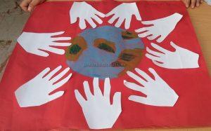 Kindergartners Earth Day Theme Craft Ideas