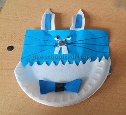 Paper Plate Craft to Easter Bunny